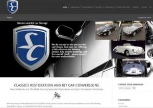 Screen shot of Severn Classics Website